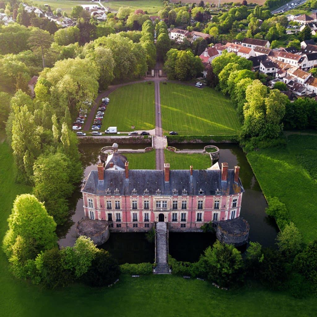 Le Château de Lésigny : quelle vue !