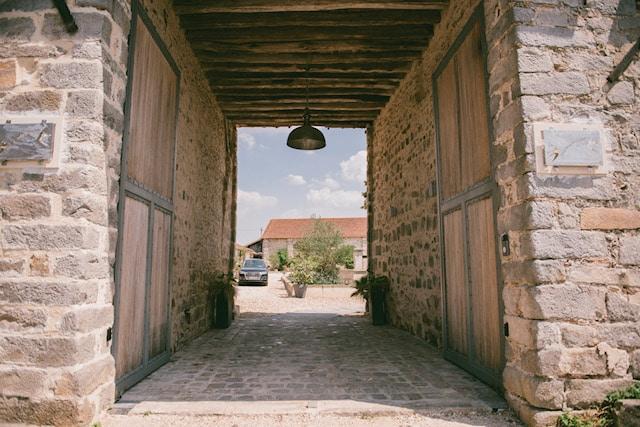 Domaine Les Hirondelles - partenaire GC - entrée