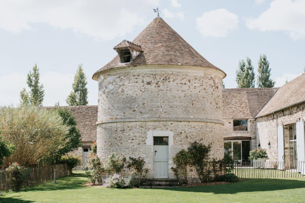 Le Domaine de Mauvoisin : la tour